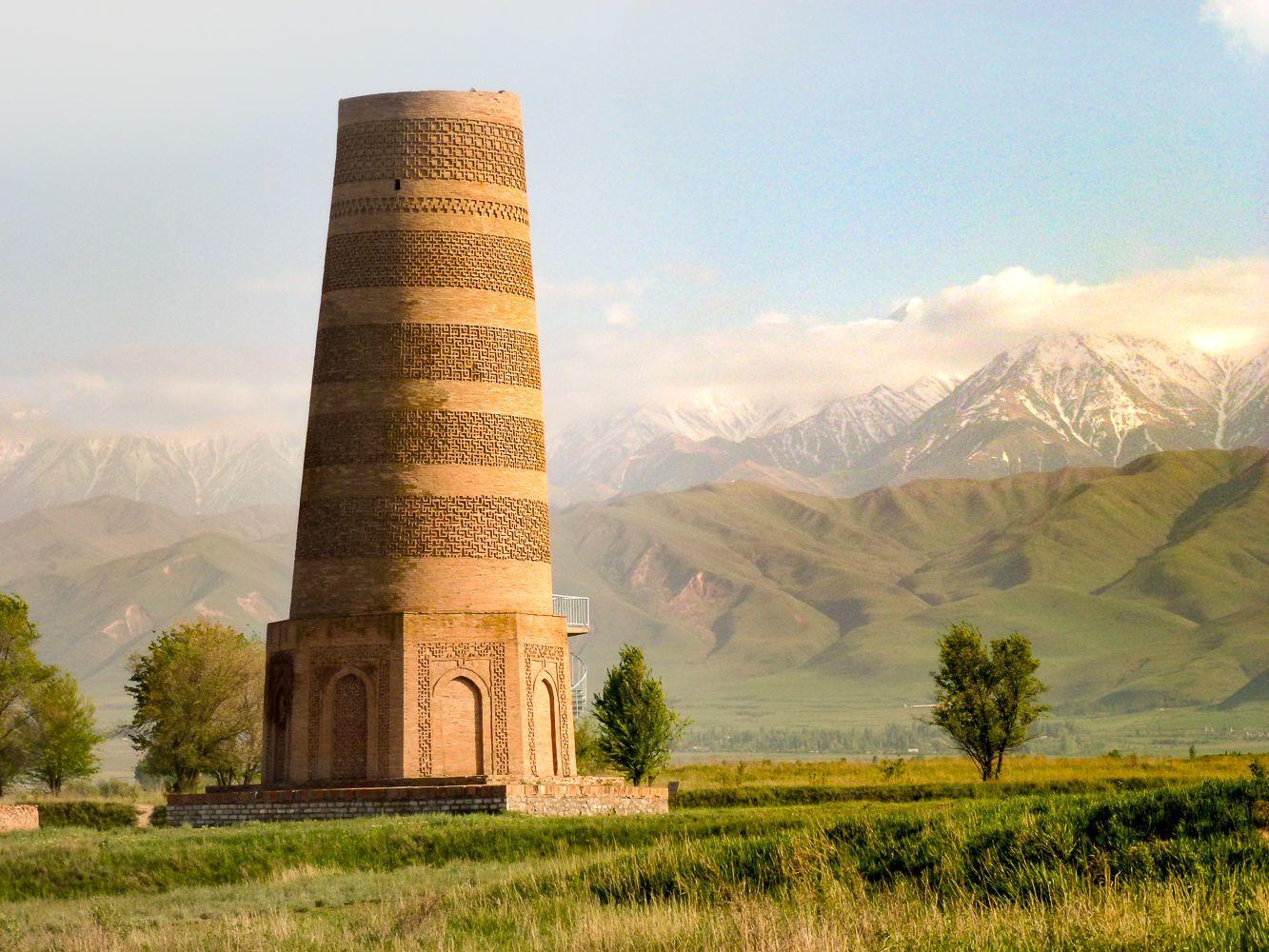 Kyrgyzstan-Uzbekistan Tour, Burana Tower,