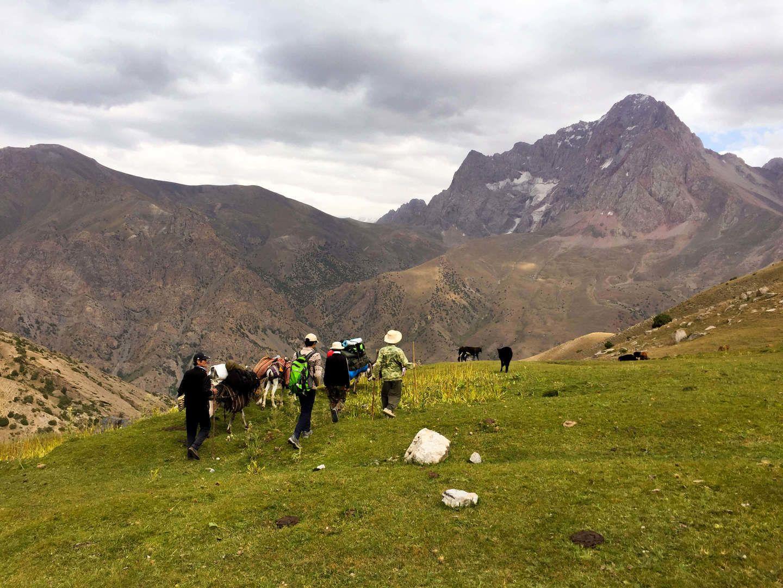 Trekking tour, Tajikistan, Hazorchashma