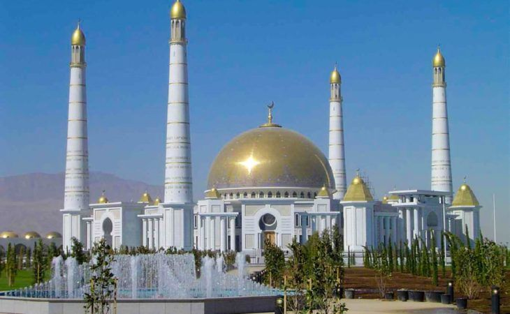 Ashgabat City Tour Mosque