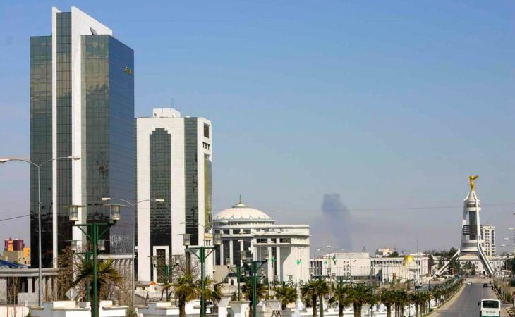 Ashgabat City Tour - Skyline of the city