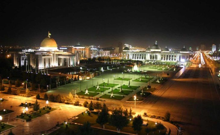 Ashgabat city tour - by night