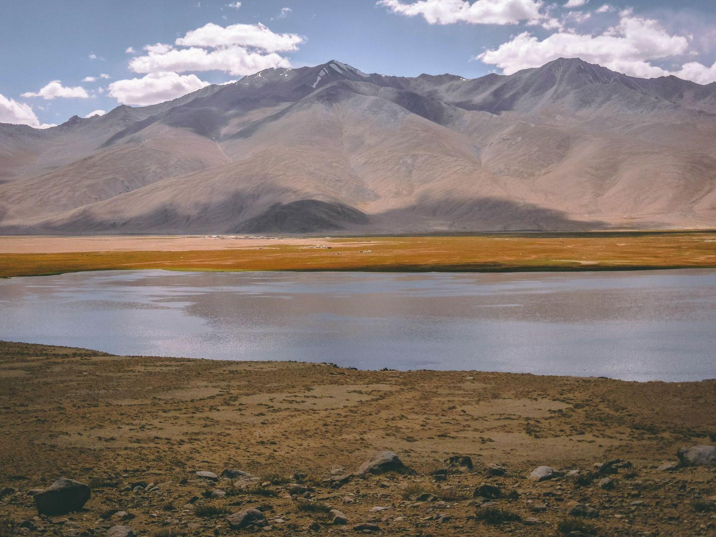 BulunKul lake, Pamir nature