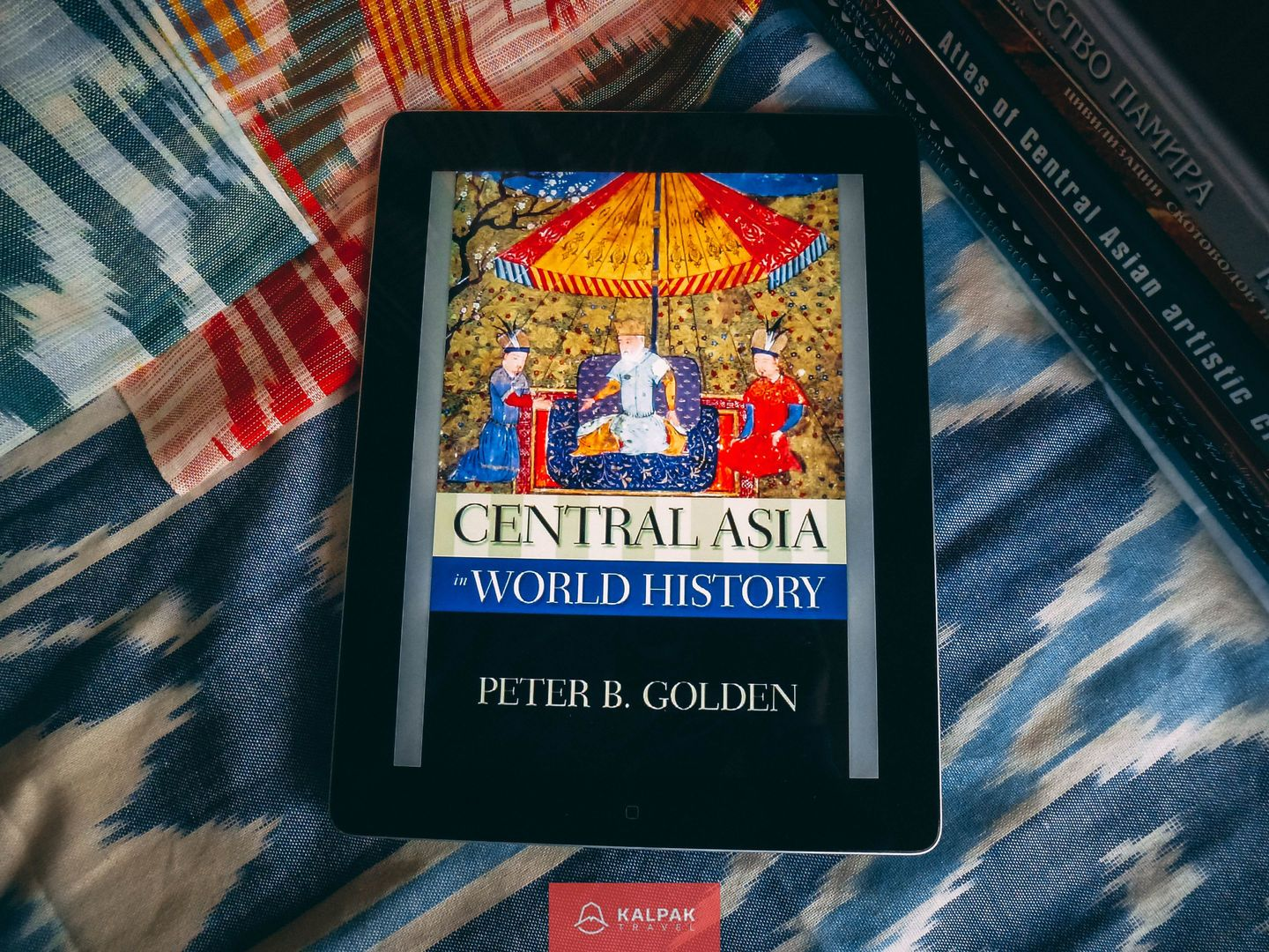 Central Asia history books