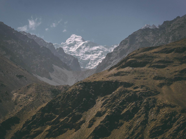 Hindu Khush view, Pamir mountains