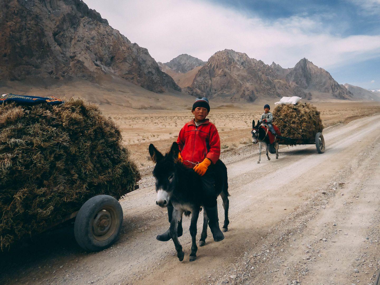 Pamir Highway, Kyrgyz people