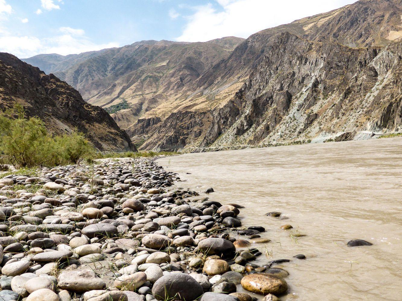Panj river, Pamir Highway