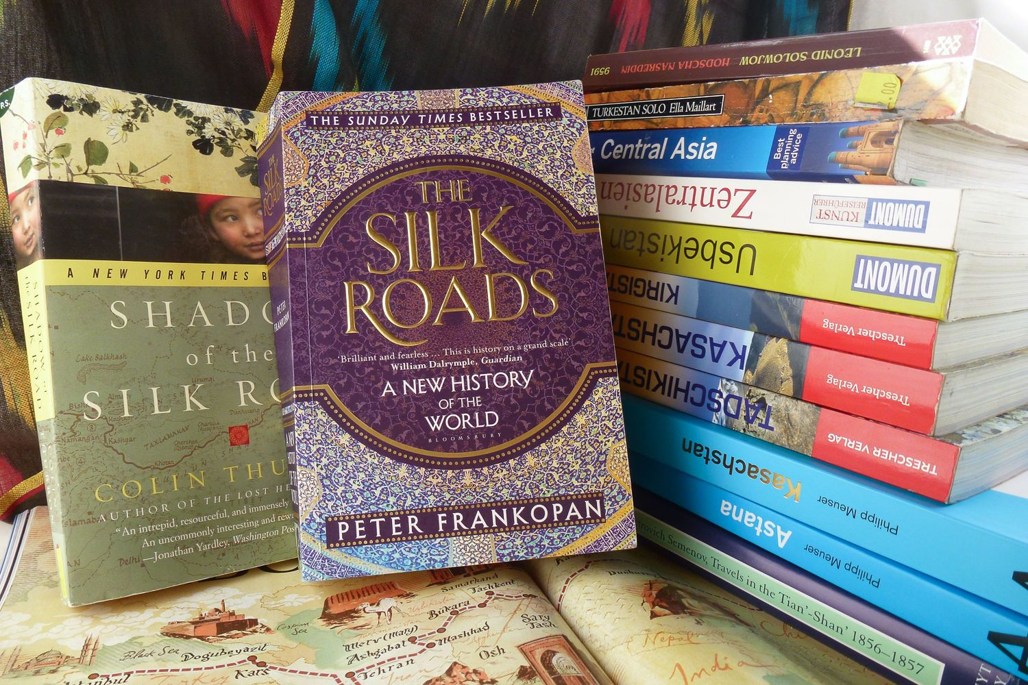 Silk Road travel books