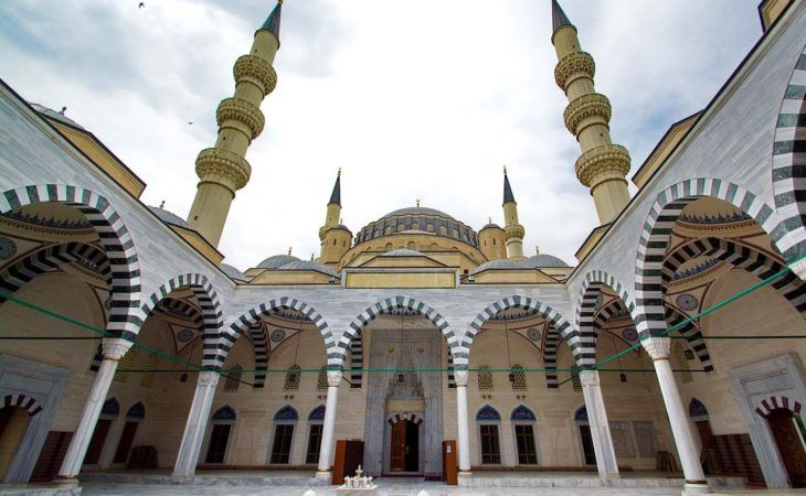 Ashgabat City Tour - Ertogrul Gazy Mosque