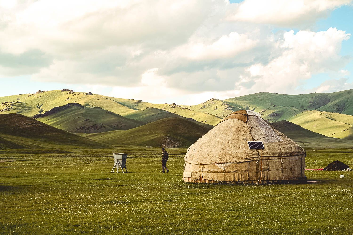 Central Asia tourism, sustainability, solar