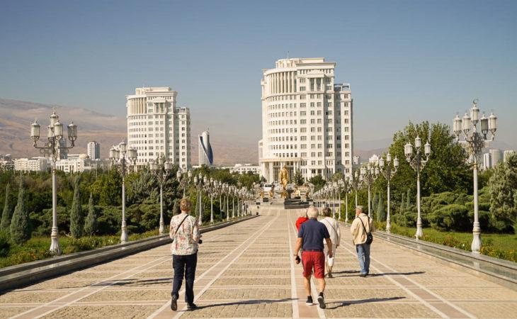 the capital of Turkmenistan is Ashgabat