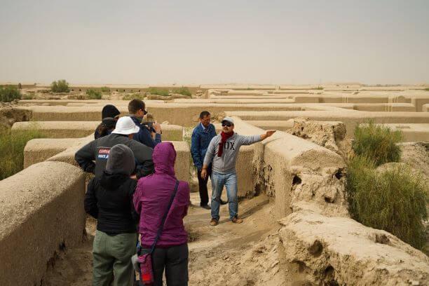 Turkmenistan tour in Gonur Tepe sight