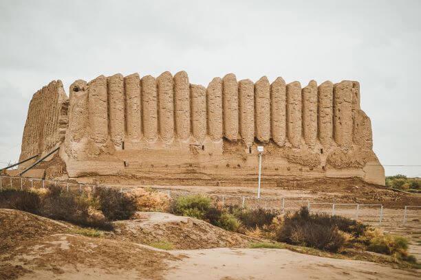 Turkmenistan tour sightseeing in Merv