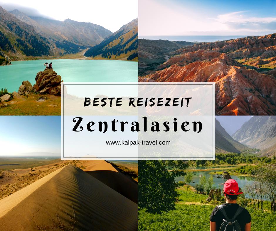 Beste Reisezeit Zentralasien