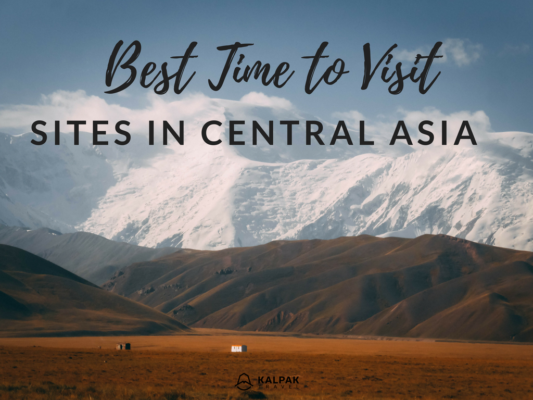 best time to visit Central Asia