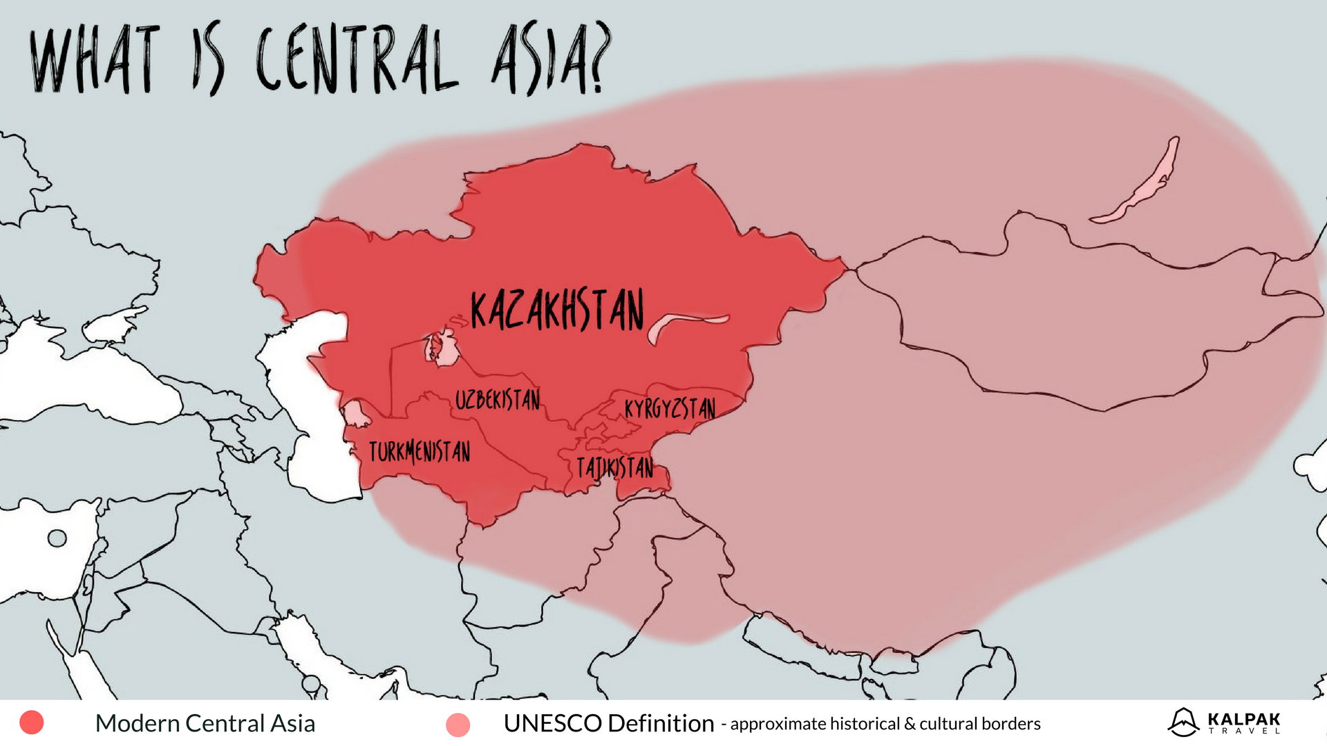 What is Central Asia? - Kalpak Travel