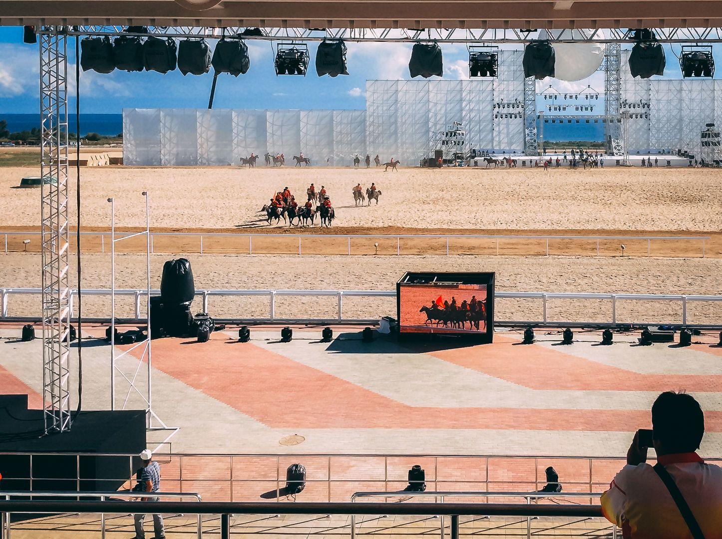 world nomad games arena, hyppodrome