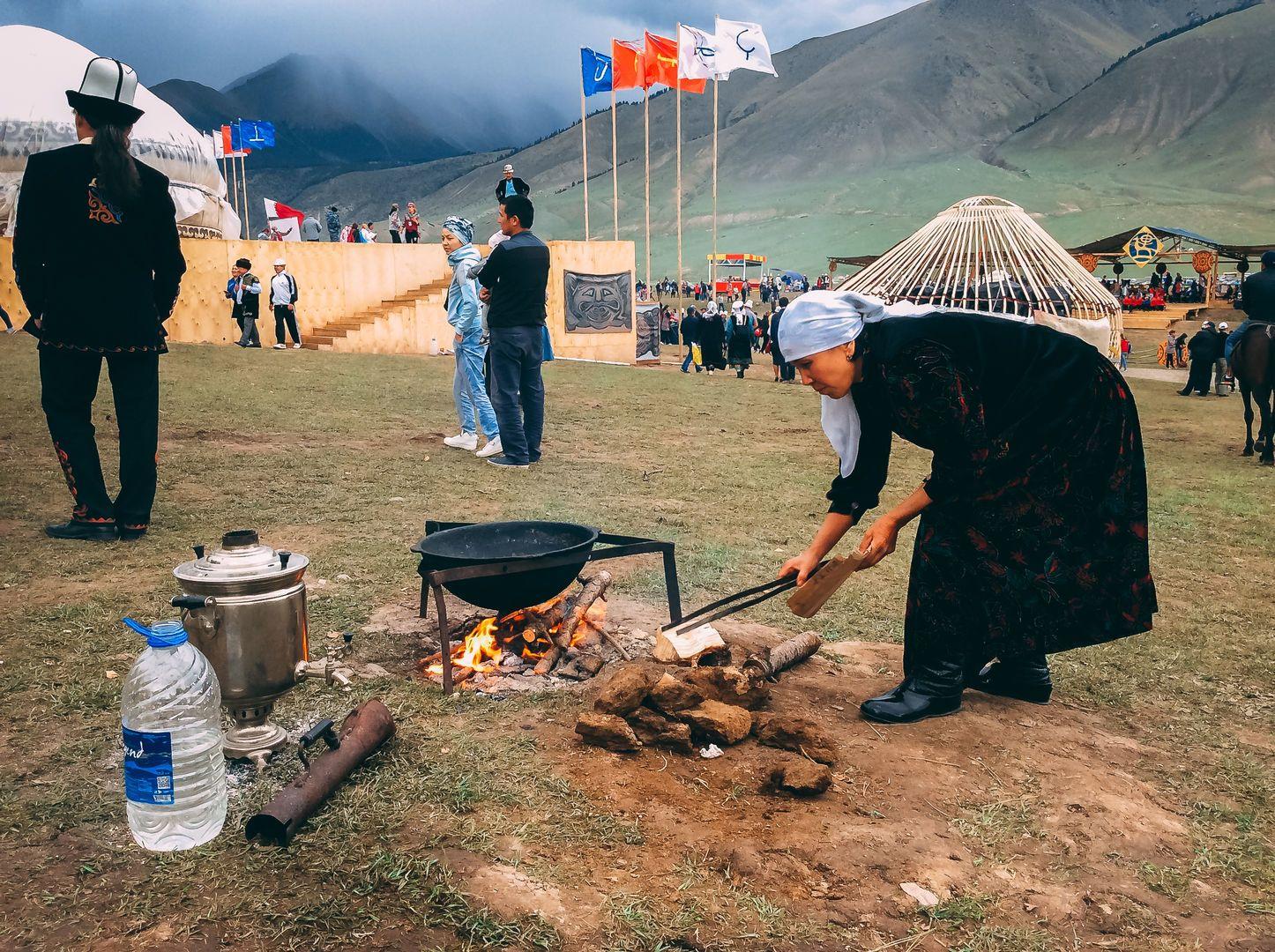 World Nomad Games cuisine