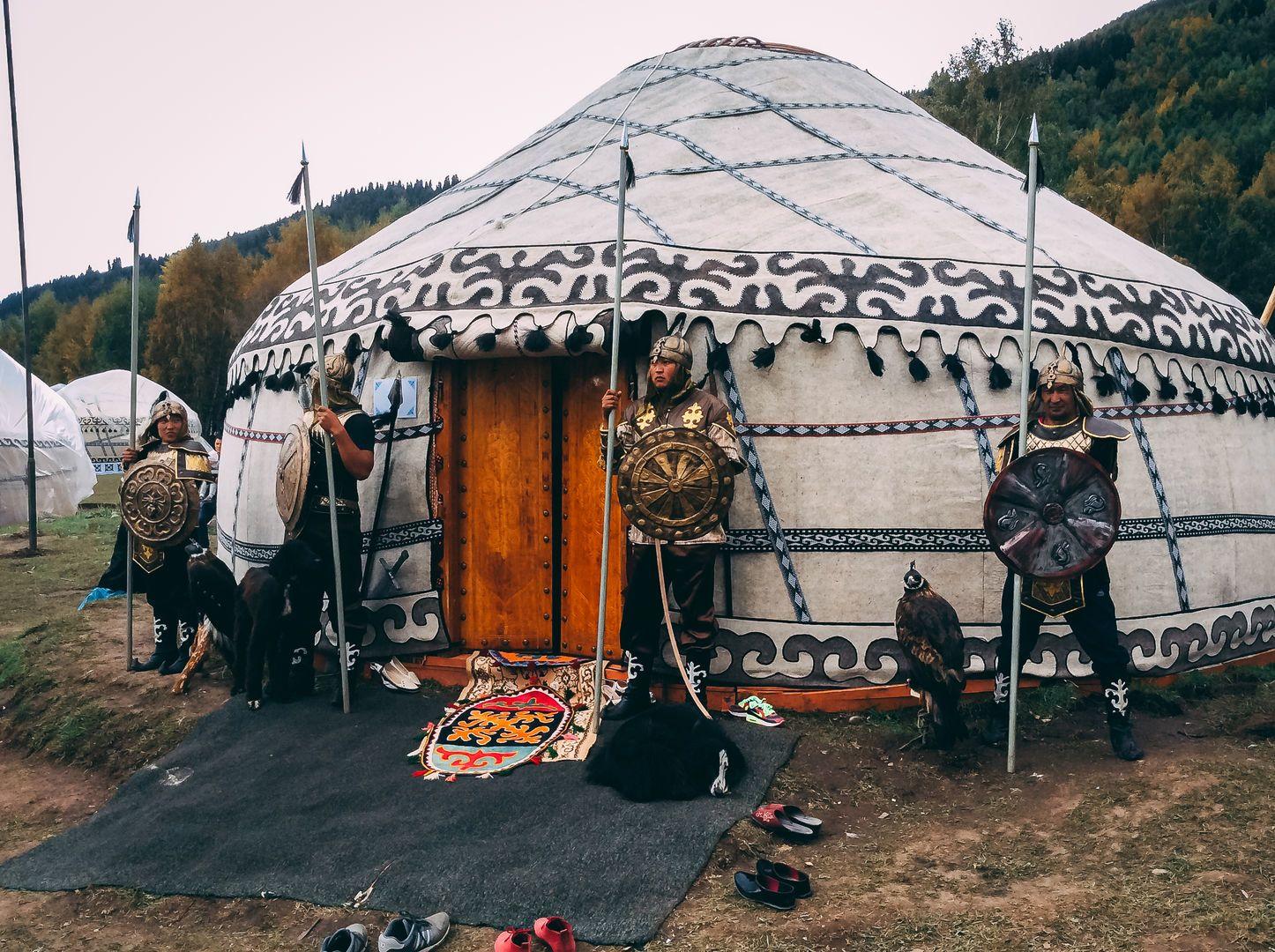 World nomad games yurt