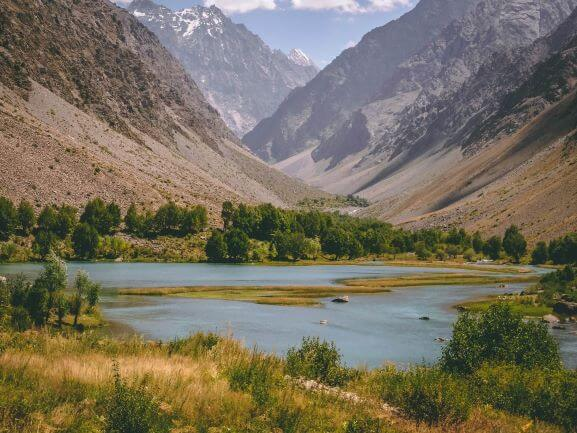 Tajikistan Pamir Highway landscape