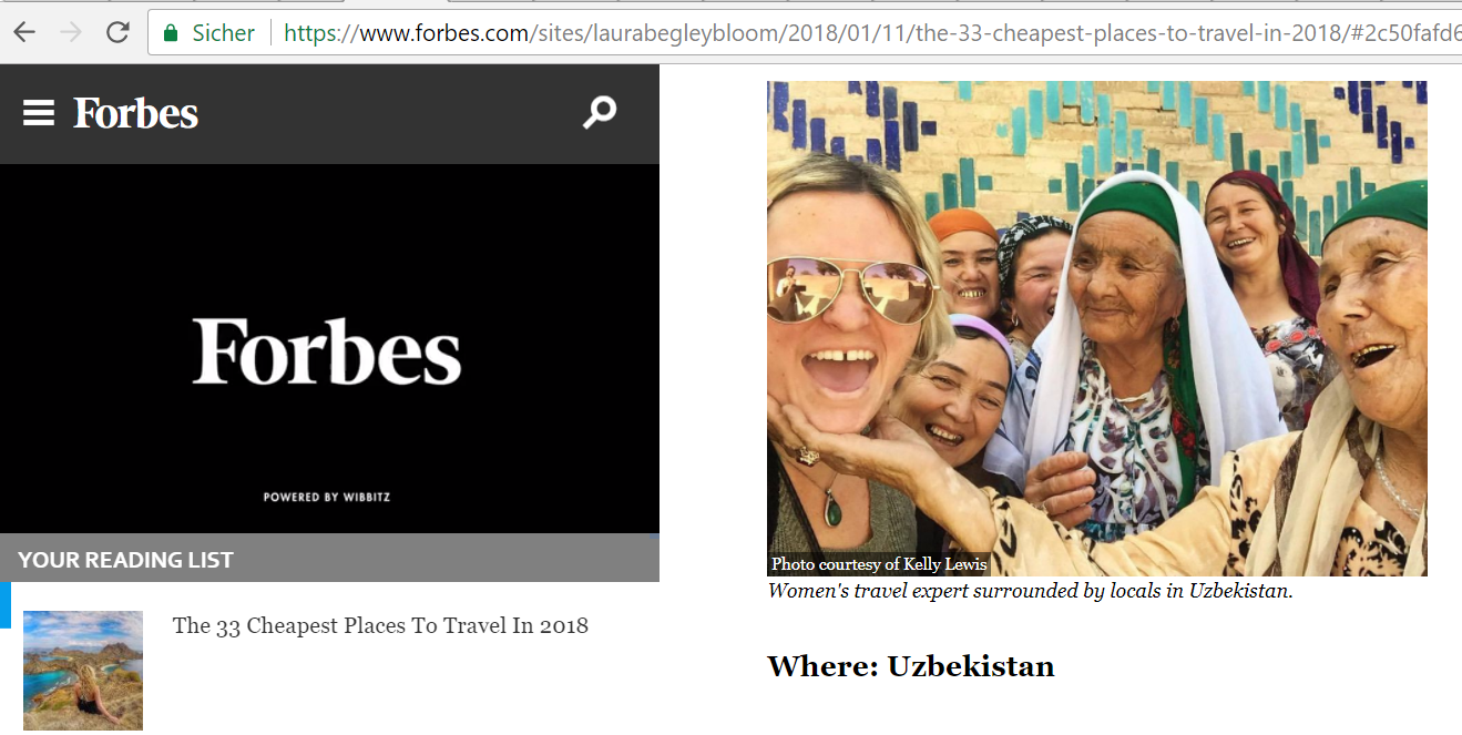 Forbes features Kalpak Travel