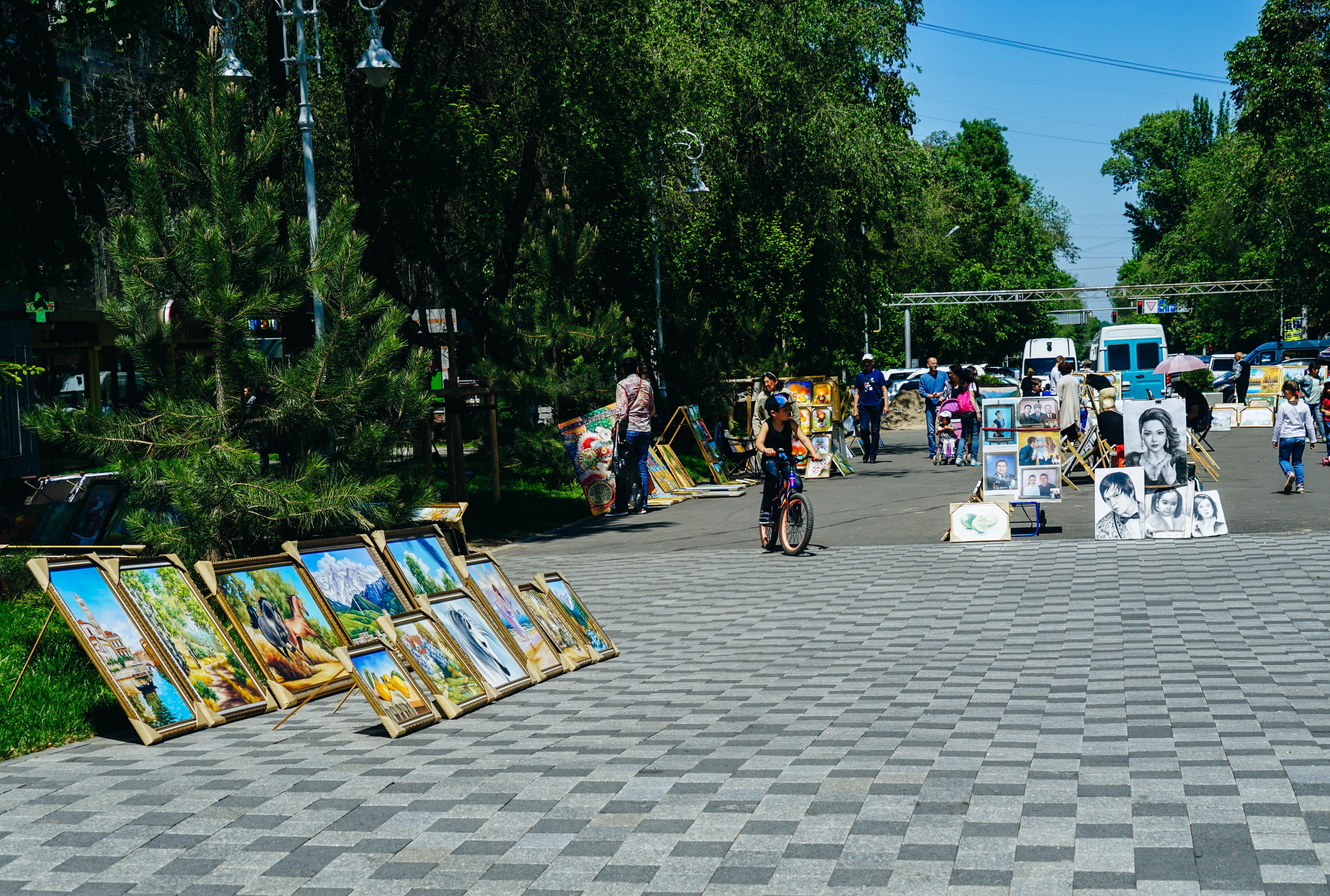 Almaty Arbat shopping passage