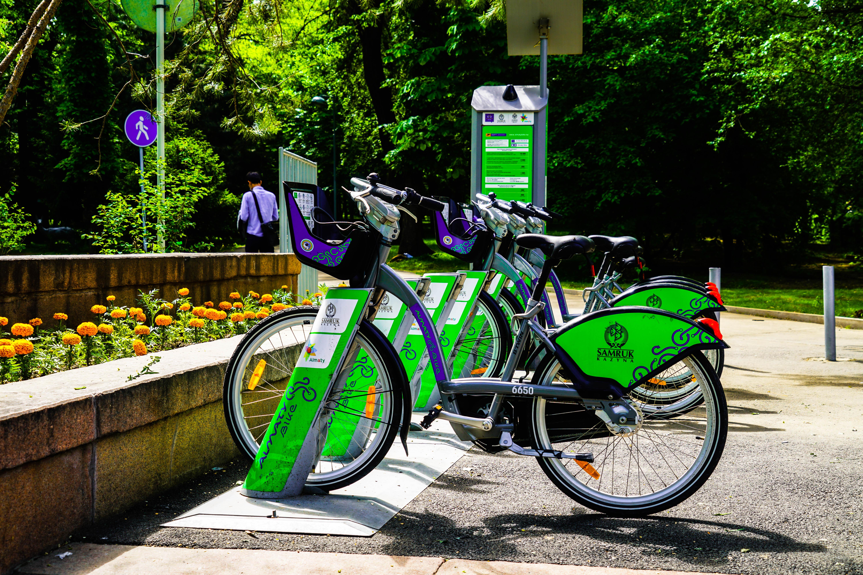 Almaty Bike stations