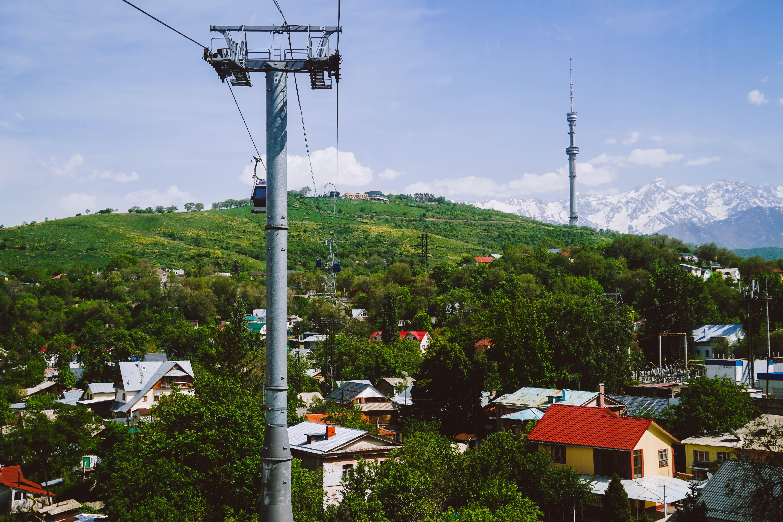 Almaty, Kok Tobe view