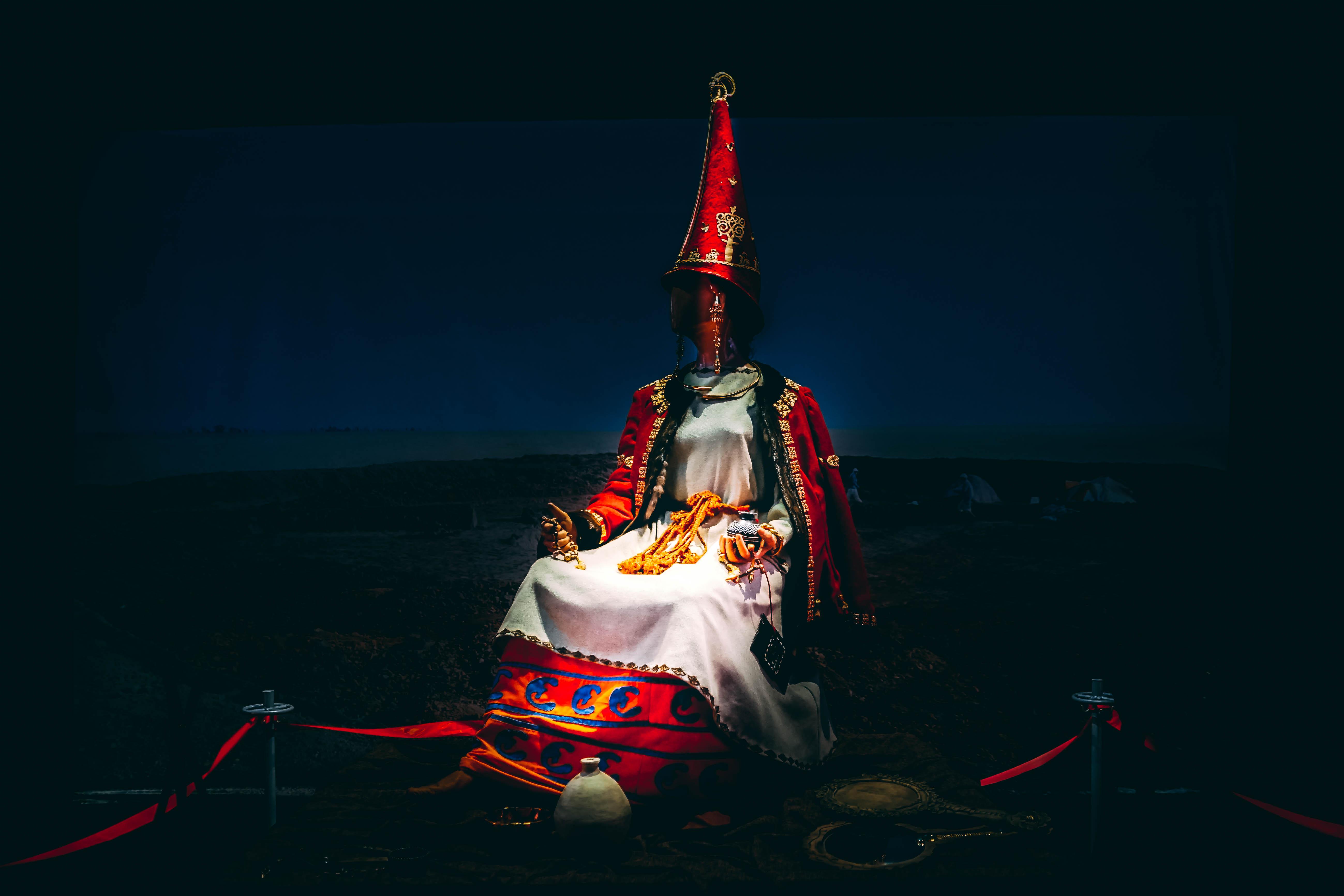 Almaty Museum, ancient priestess