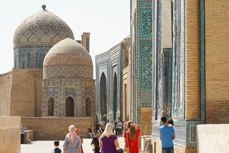 Central Asia Trip in Samarkand