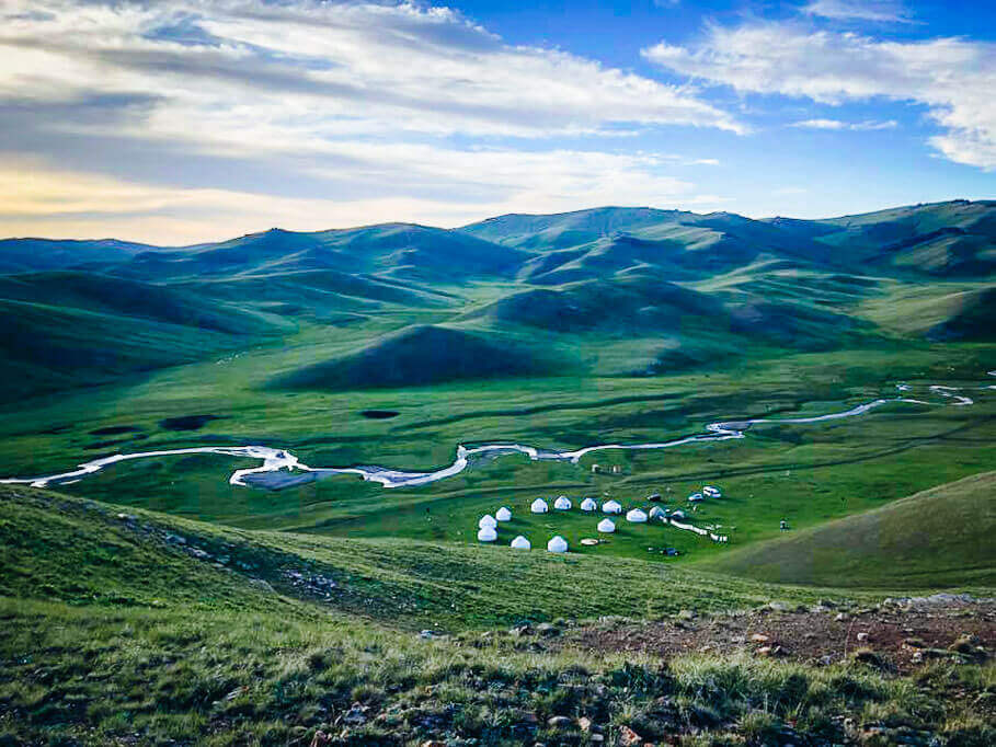 Central Asia tour at Song Kul