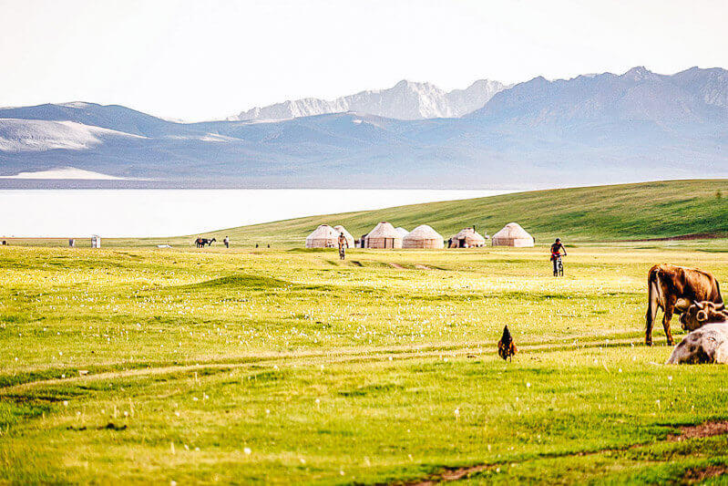 world nomad games tour in Kyrgyzstan